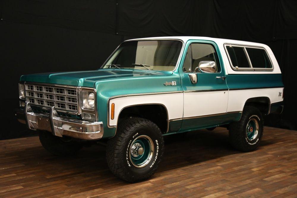 1978 Chevrolet Blazer Gmc Jimmy K5 Chevrolet Blazer Chevrolet