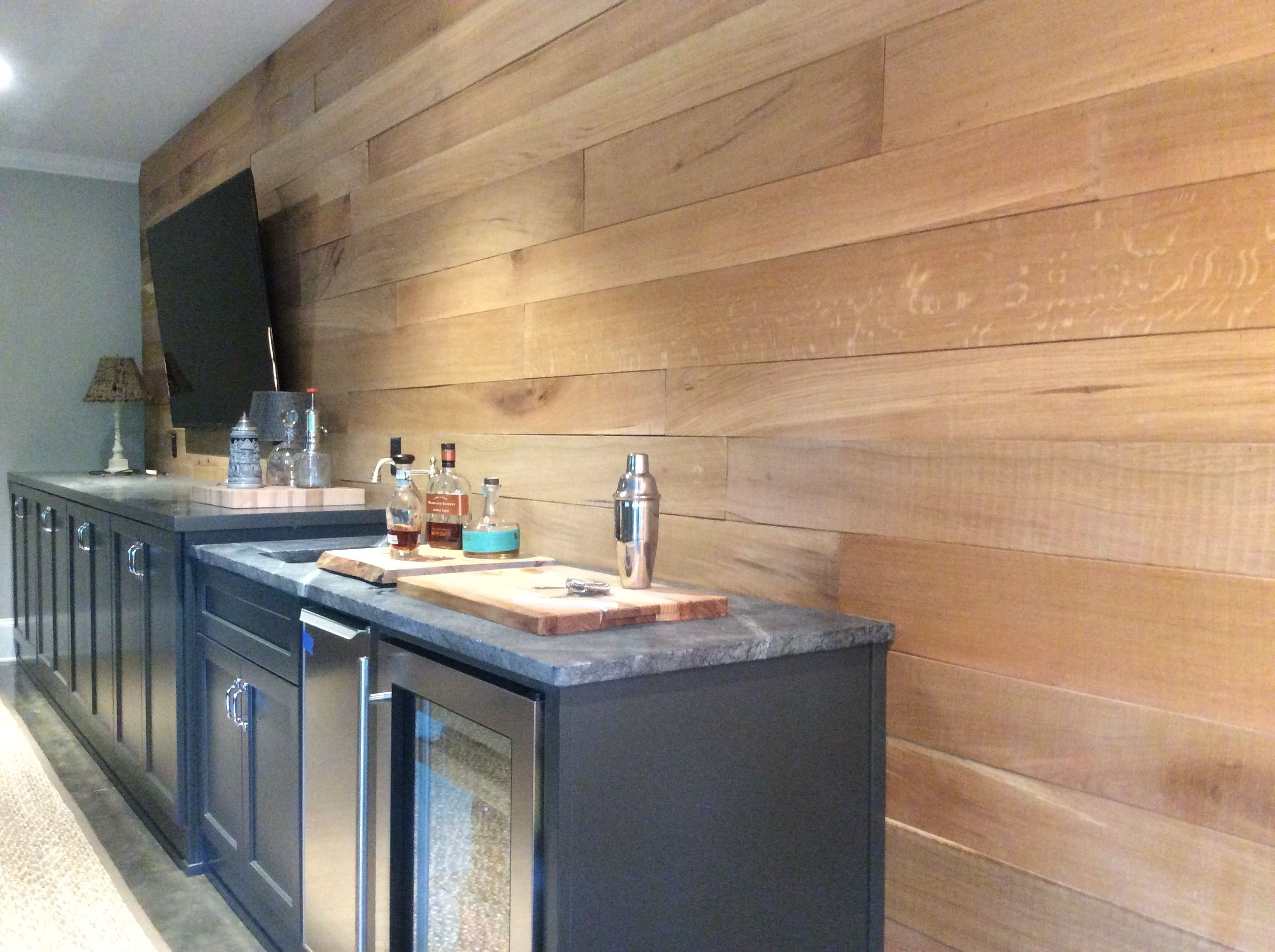 Eutree Forest Free White Oak Accent Wood Wall Paneling Wood Panel Walls Basement Wall Panels Wood Paneling
