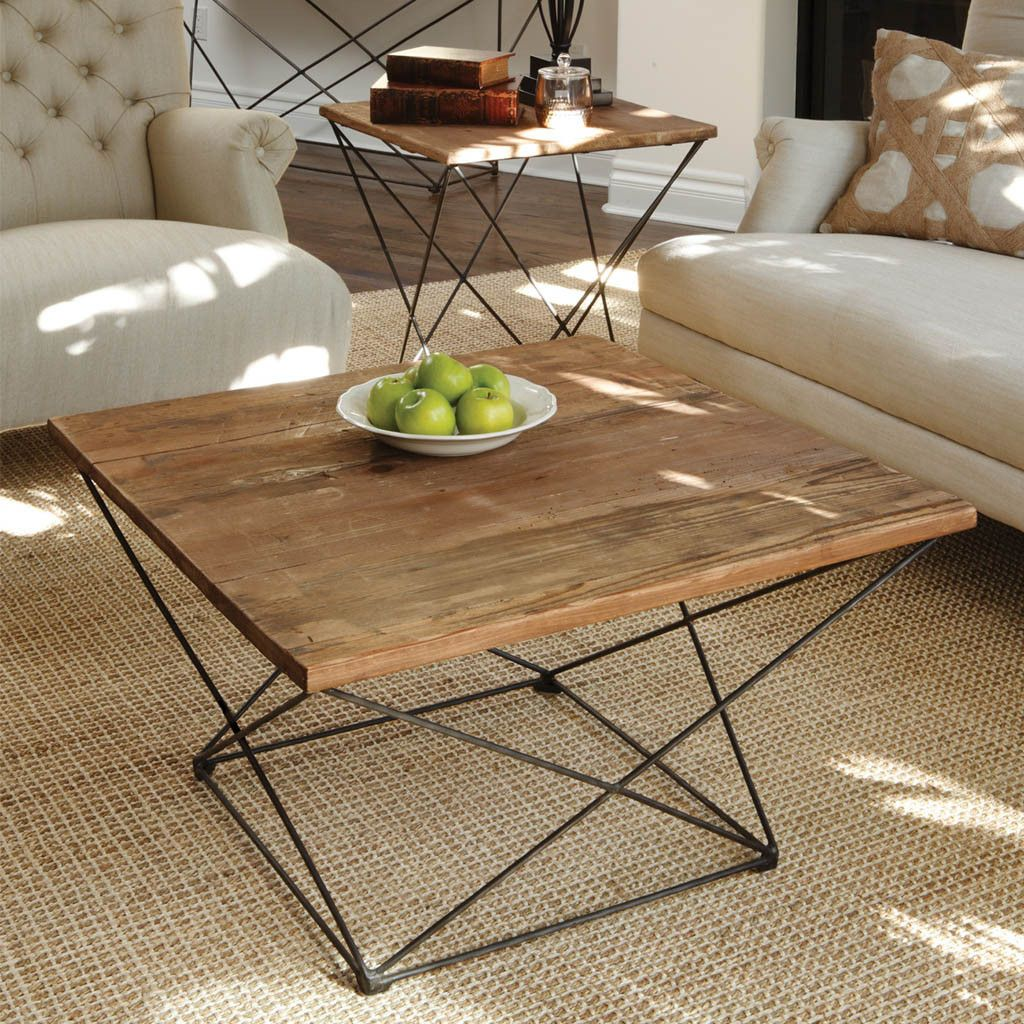 Eye catching and airy the Benton Coffee Table is inspired by classic