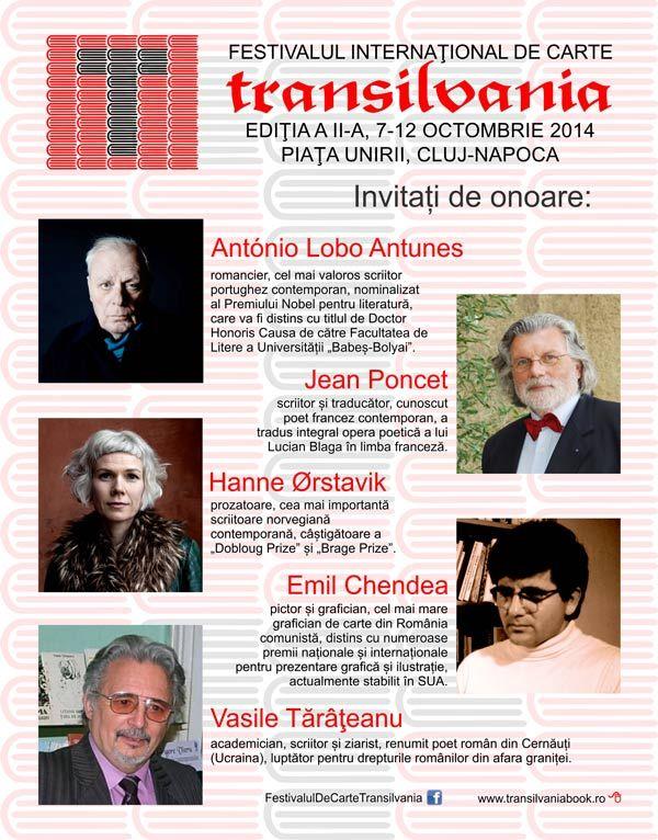 Festivalul Internațional De Carte Transilvania Cards