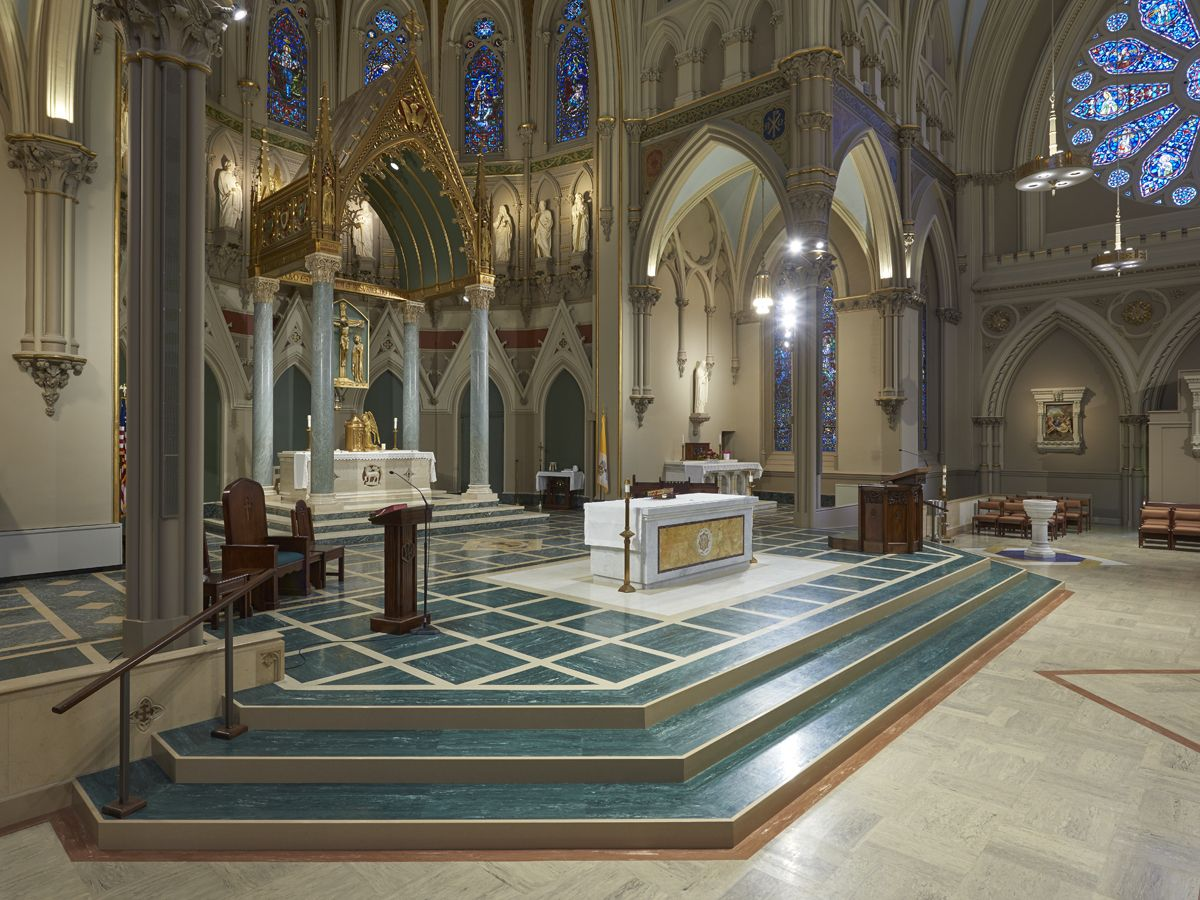 roppe marbleized rubber tile immaculate conception church roppe