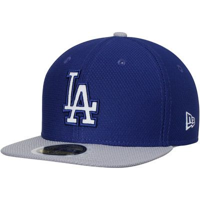 a2b2868a3cc Los Angeles Dodgers New Era Youth Diamond Era 59FIFTY Fitted Hat -  Royal Gray