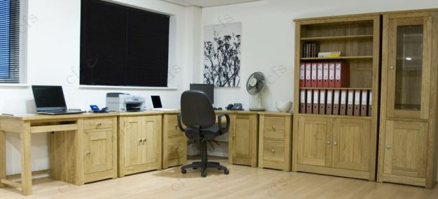 homestyle gb torino oak printer cabinet