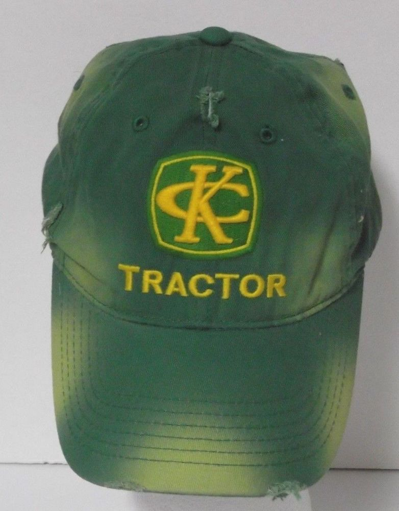 Kenny Chesney Baseball Cap Trucker Hat Tractor Country Music John Deere  Inspired 50d8303266d