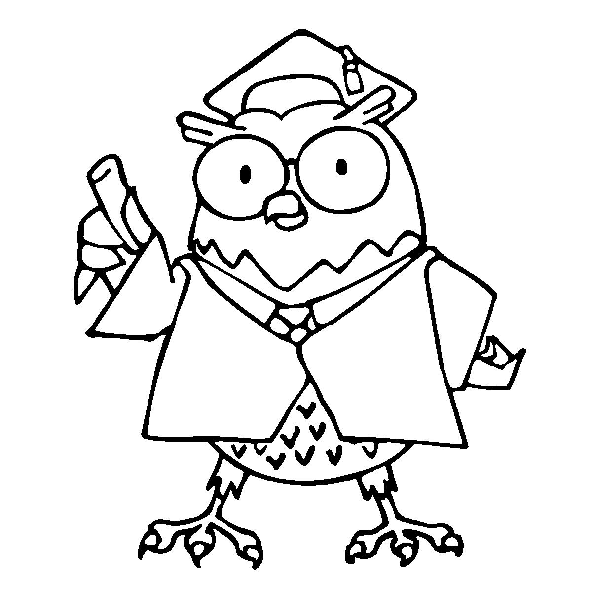 Clip Art Cartoon Professor