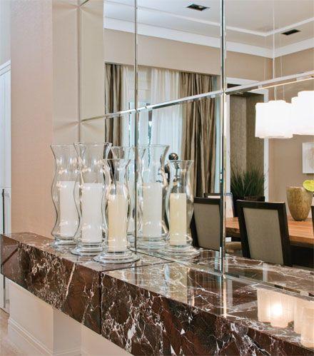 A Ilusao Dos Espelhos Para Deixar Sua Casa Maior Espelho Sala