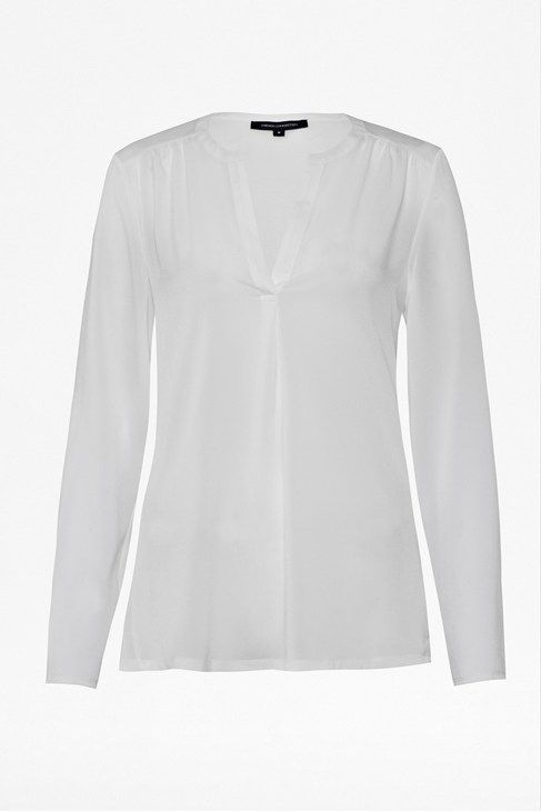 Classic Polly Plains Shirt #FrenchConnection $68