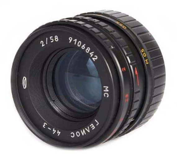 Helios 44-3 58mm F2 Russian Vintage Lens for Sony Alpha (A-mount