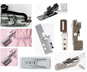 Janome, 1000CP, CoverPro, 10 piece Accessory, Center Guide Foot ...