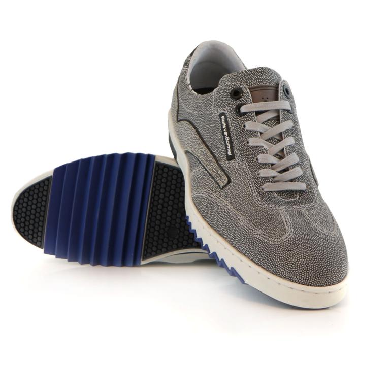 2c8b2e9da5dbb1 Floris van Bommel sneaker grey print suede