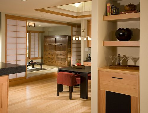 Modern Japanese Interior As We Say In Zen Cluttered Home Cluttered Mind No Clutter Here Japanese Home Design Modern Japanese Interior House Design