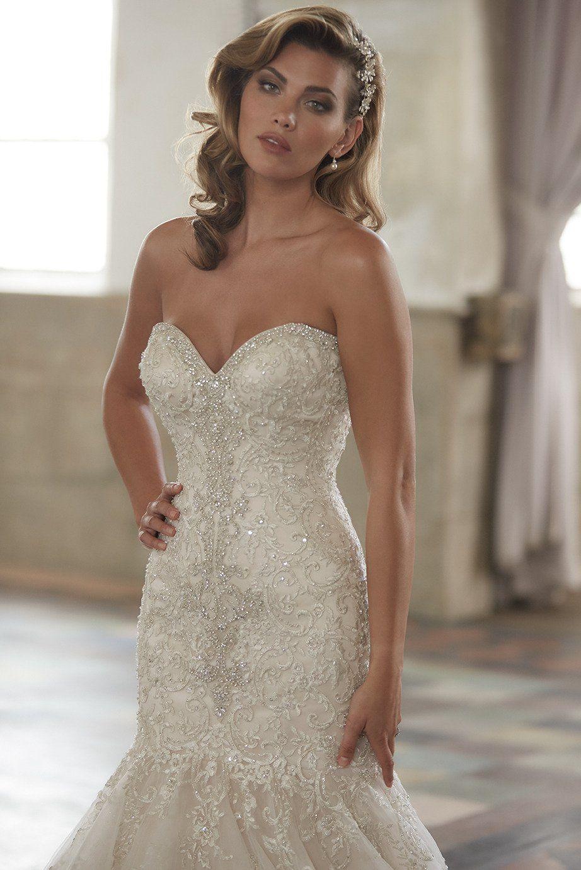Allure Bridals On Twitter Allure Wedding Dresses Allure Bridal Wedding Dresses Strapless [ 1382 x 922 Pixel ]