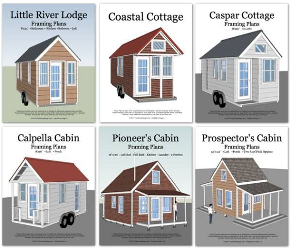 6 Plans You Can Use to Build Tiny Houses Tiny House Pins