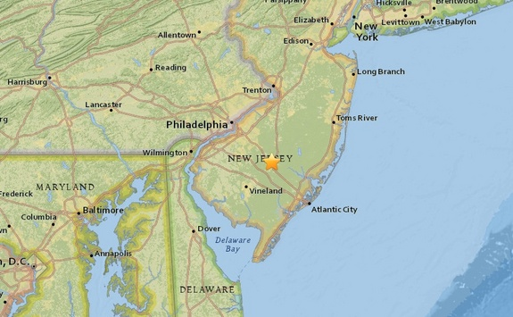 Mysterious Sonic Boom Reported Over New Jersey #Science #iNewsPhoto