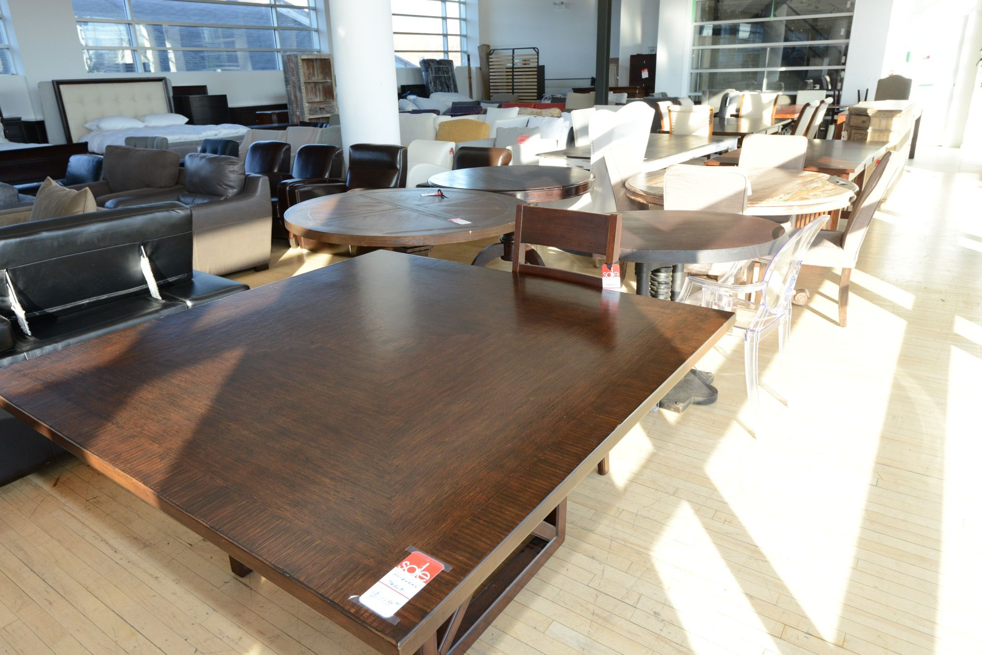 Square Shaped Dining Table GH Johnson Toronto