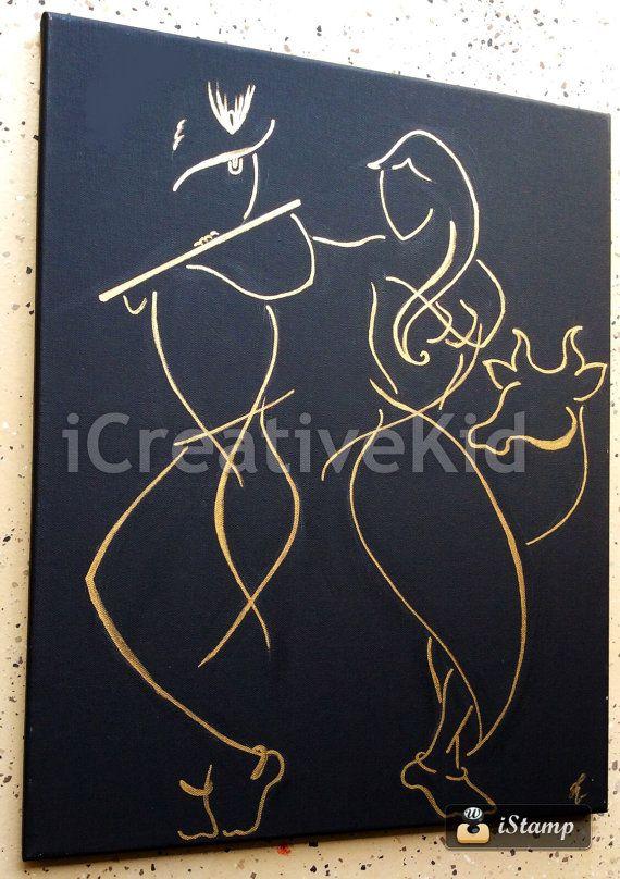 divine love of radha krishna icreative kid art pinterest krishna etsy and paintings