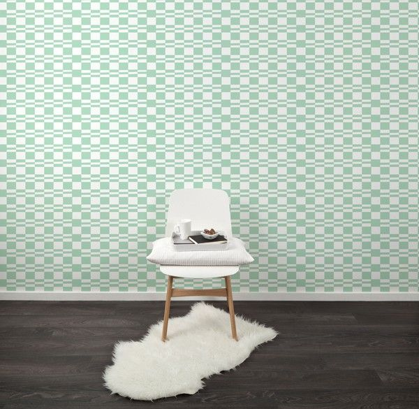 Pastel Groen Behang.Pastel Groen Grafisch Behang Woonnieuws Wallpaper Striped Room