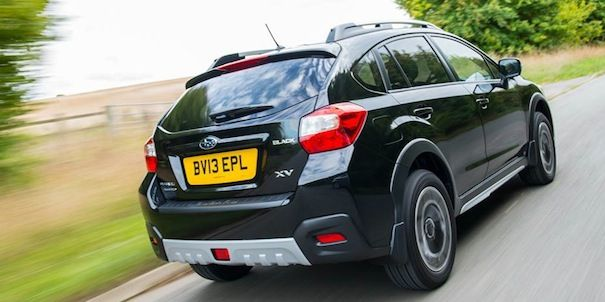 2014 Subaru XV Crosstrek s award in Scotland