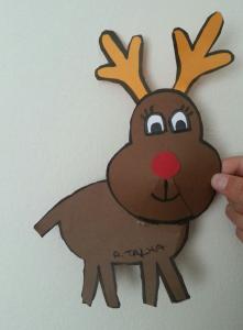 deer craft idea for kids