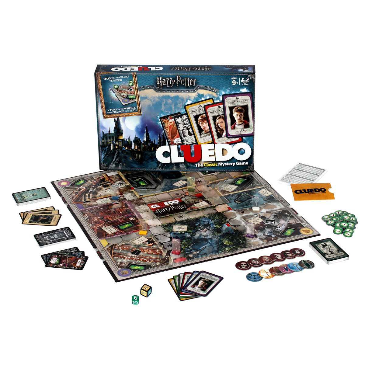 Buy Harry Potter Cluedo Mystery Board Game on Board Game