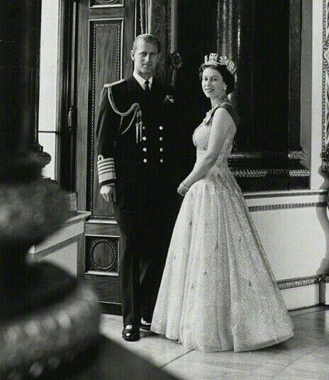 Prince Philip and Queen Elizabeth II by Cecil Beaton 10th