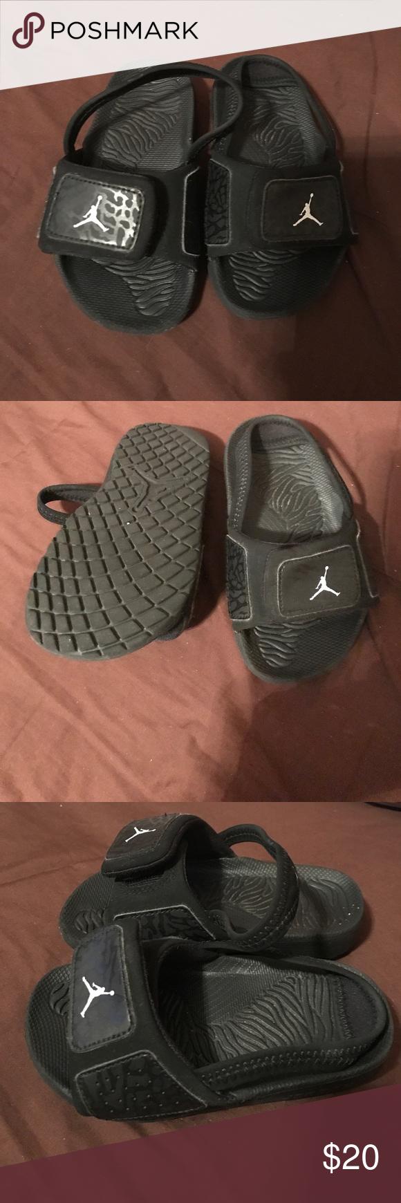 c8d1e1daf95e38 Toddler boy slides Jordan slides Jordan Shoes Sandals   Flip Flops ...