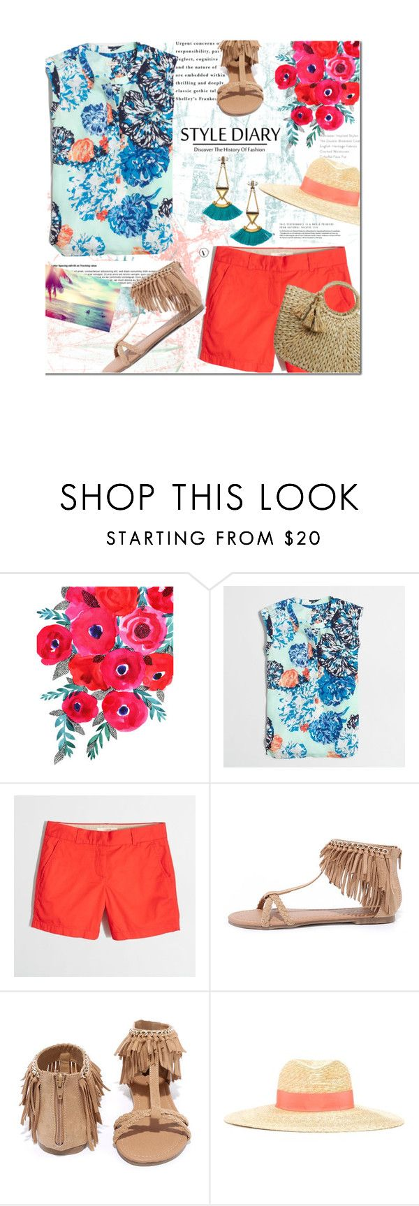 """""""Style Diary:outfit of the day"""" by bamaannie ❤ liked on Polyvore featuring J.Crew, Qupid, Lanvin and Stella & Dot"""