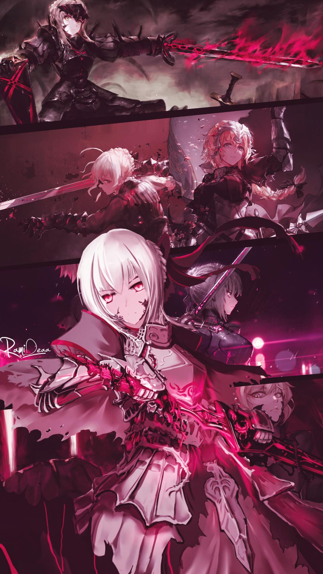 Saber Alter Fate Stay Night Wallpaper De Anime Arte De