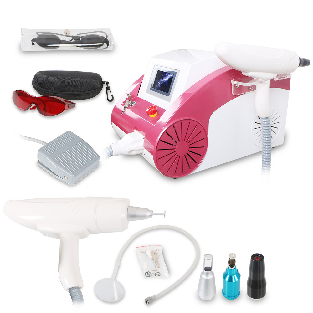 HRJ200 500w Q Switch Nd Yag Laser Tattoo Removal Machine