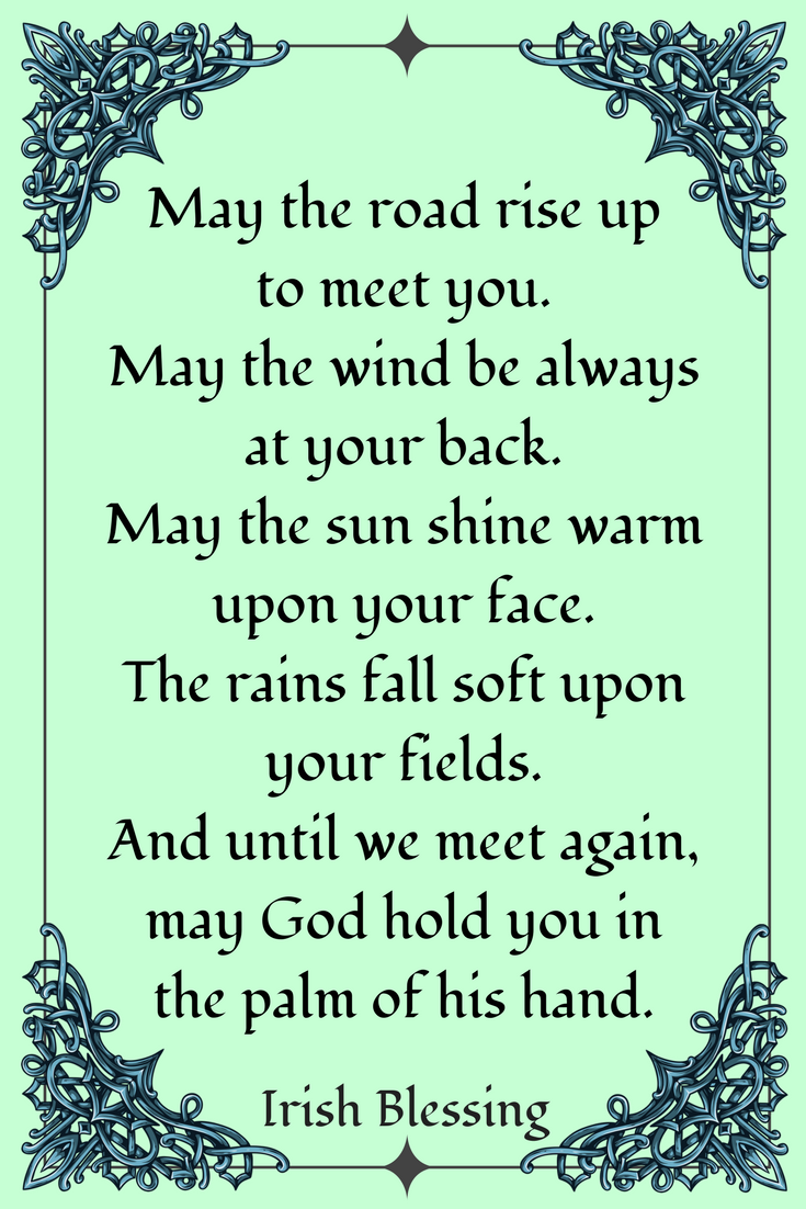 Ireland Blessings Proverbs Quotes & Toasts Quotes