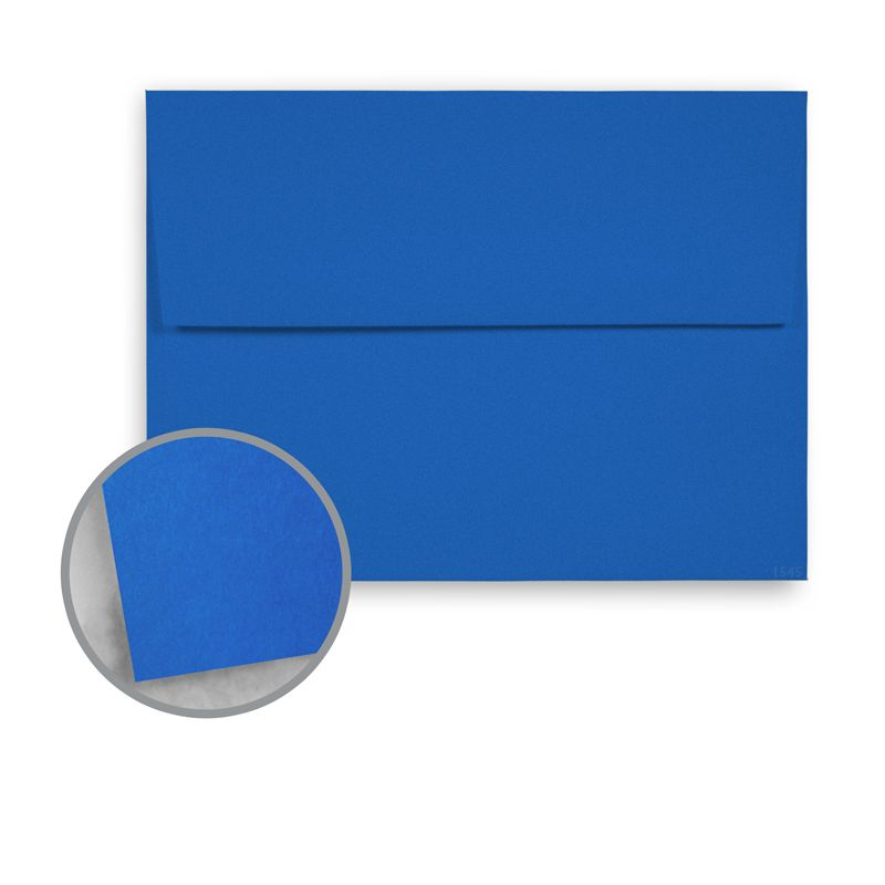 Astrobrights Blast Off Blue Envelopes A6 4 3 4 X 6 1 2 60 Lb Text Smooth 250 Per Box Blue Envelopes Printed Envelopes Neenah Paper