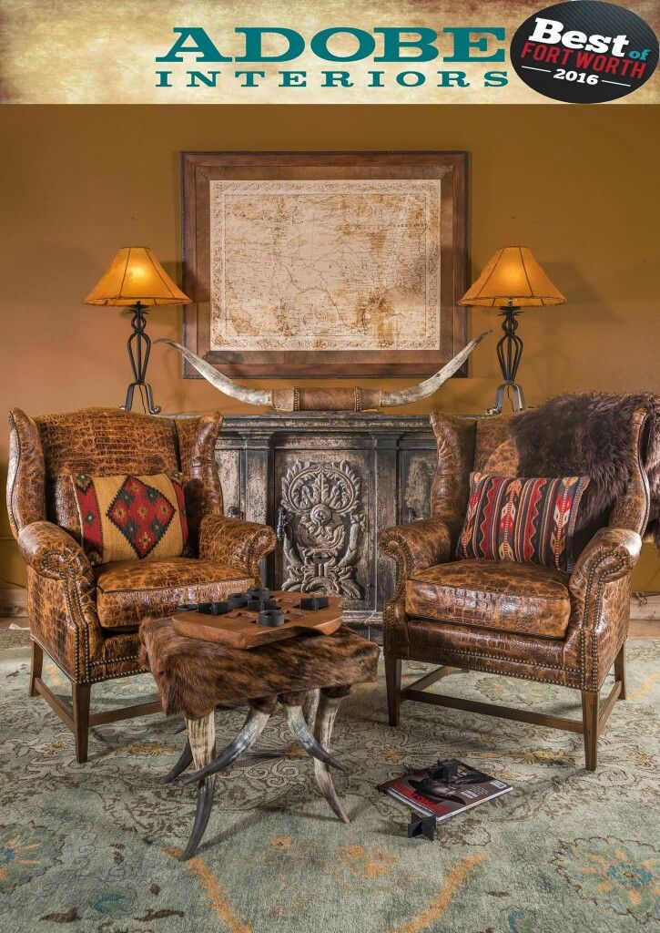 Love These Chairs Rustic Western Home Decor