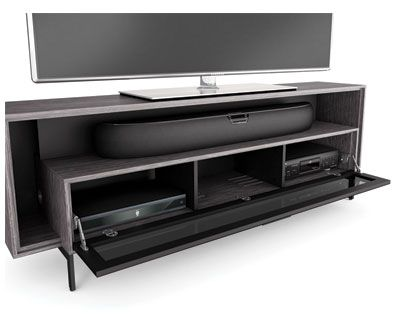 Cavo 8167 Tv Cabinet For Soundbar Flat Panel Stand Bdi Furniture