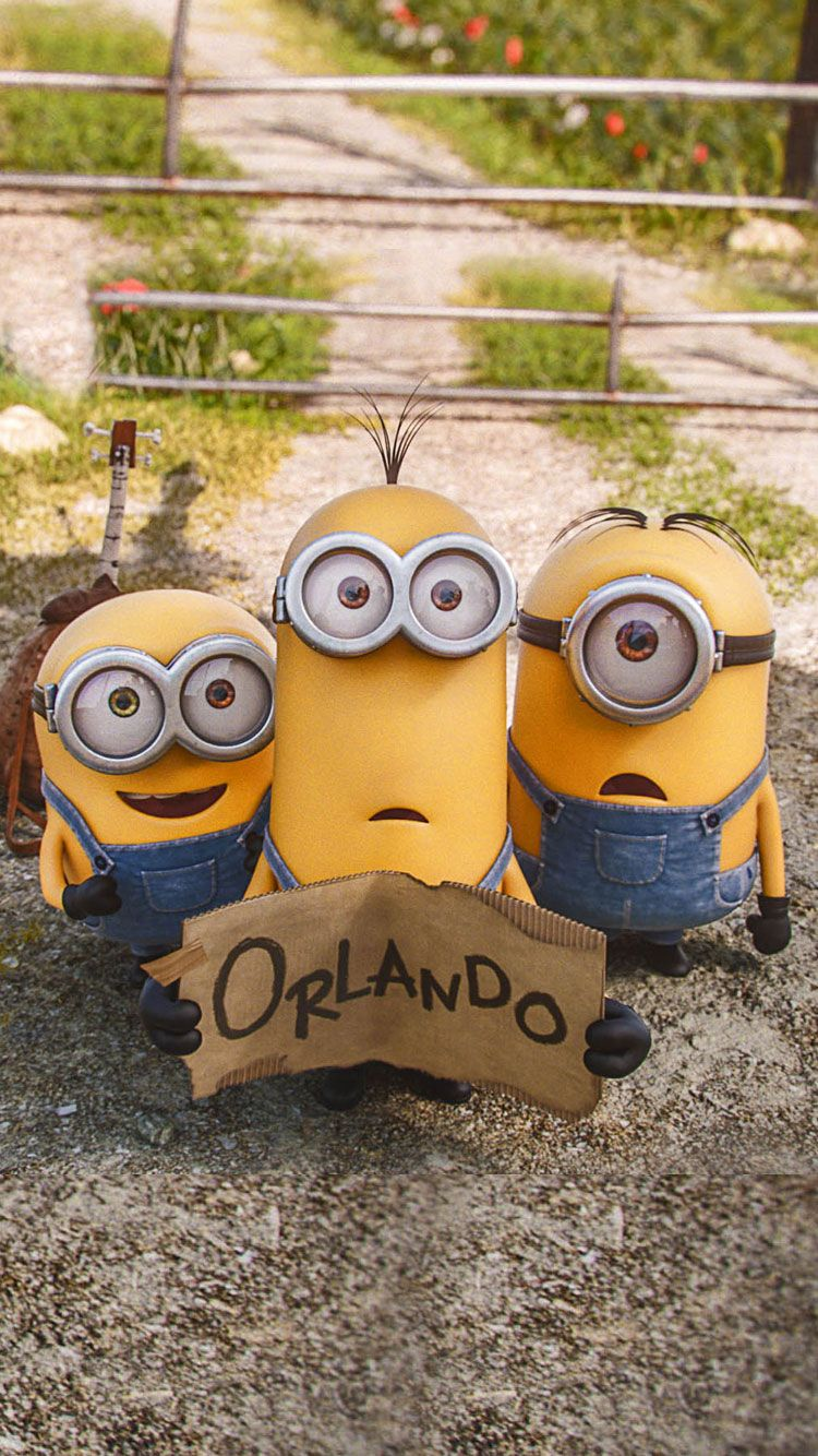 iPhone Wallpapers HD from designbolts.com, A Cute Collection Of Minions Movie 2015 Desktop Backgrounds & iPhone Wallpapers HD Cute-Minion-iPhone-Wallpaper