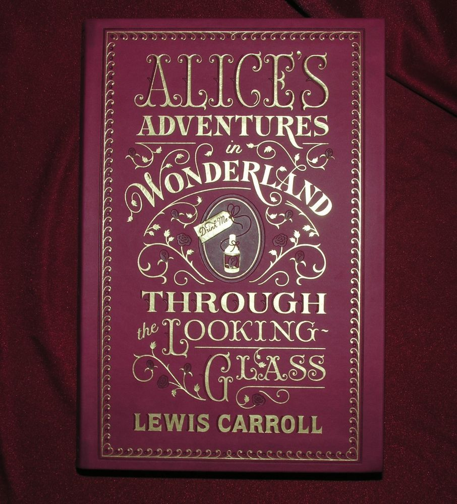 Alice In Wonderland & Through the Looking-Glass by Lewis Carroll Gilded Cover! | Books, Children & Young Adults, Other Children & Young Adults | eBay!