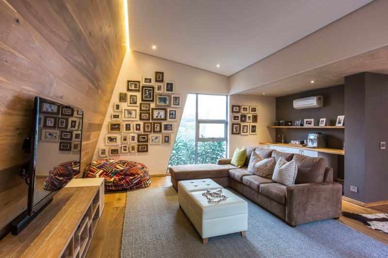 Wandgestaltung in Braun \u2013 50 Wohnzimmer Wohnideen #braun - moderne wandgestaltung wohnzimmer lila