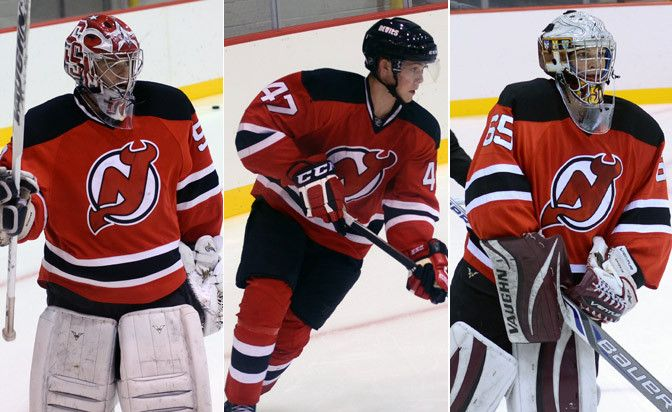 Brodeur S Sons Carrying On Family Tradition With Devils Nj Devils