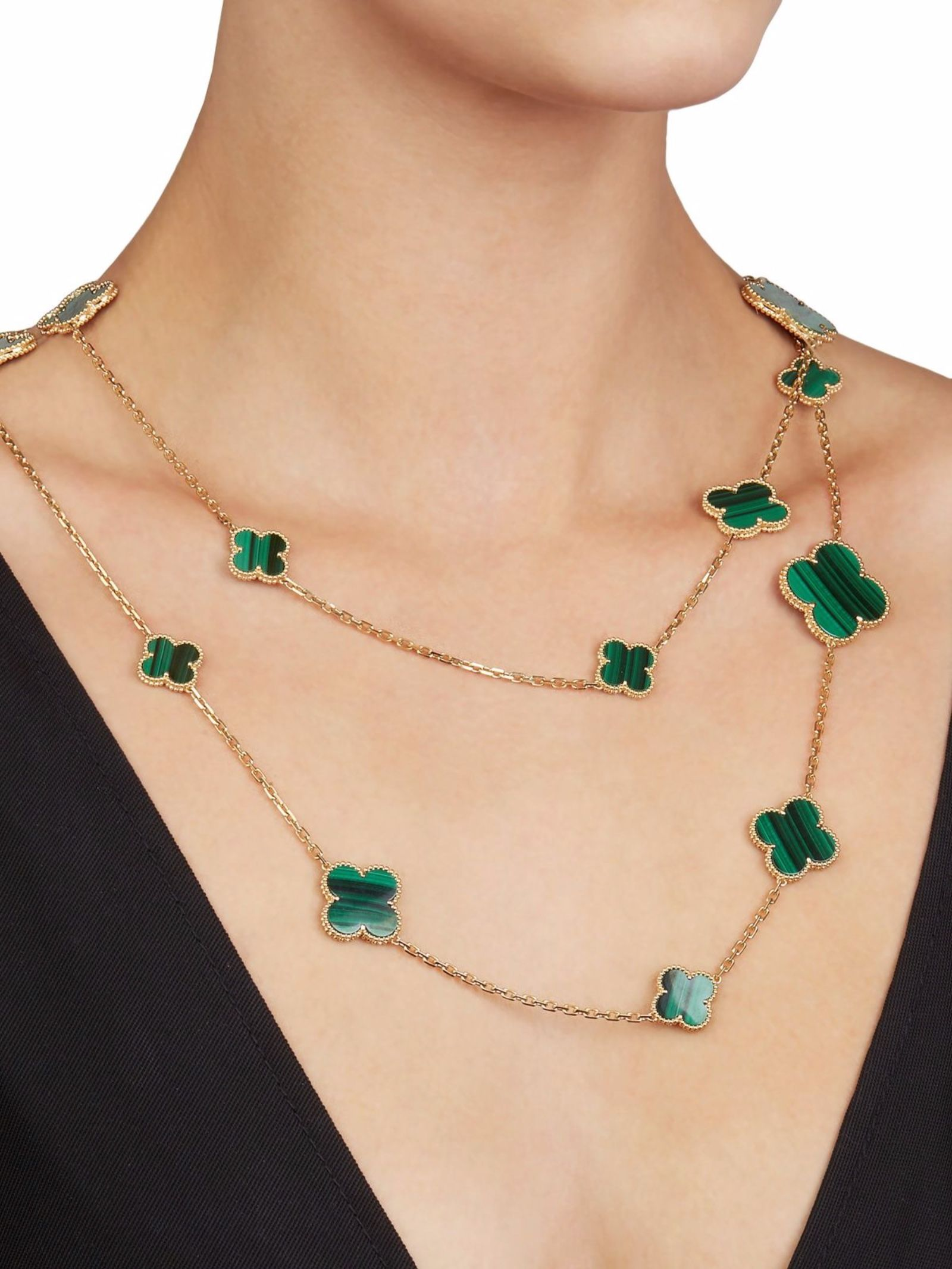 This Necklace by Van Cleef & Arpels is from their Magic