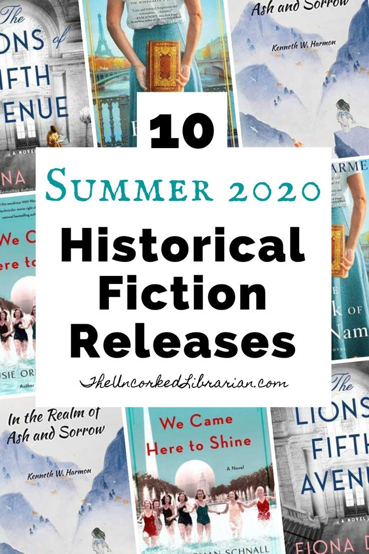 10 Summer 2020 Historical Fiction Book Releases