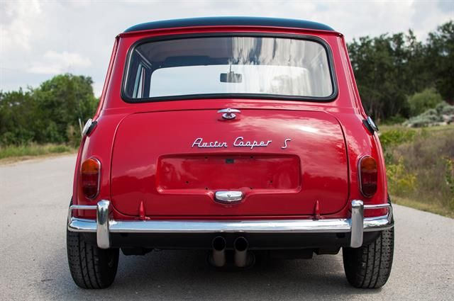 1964 Austin Mini Saloon To Be Auctioned At Motostagias 2014 Grand