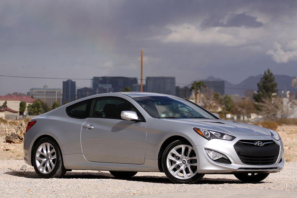 Sleek smooth and sporty the Hyundai Genesis is a rear wheel drive
