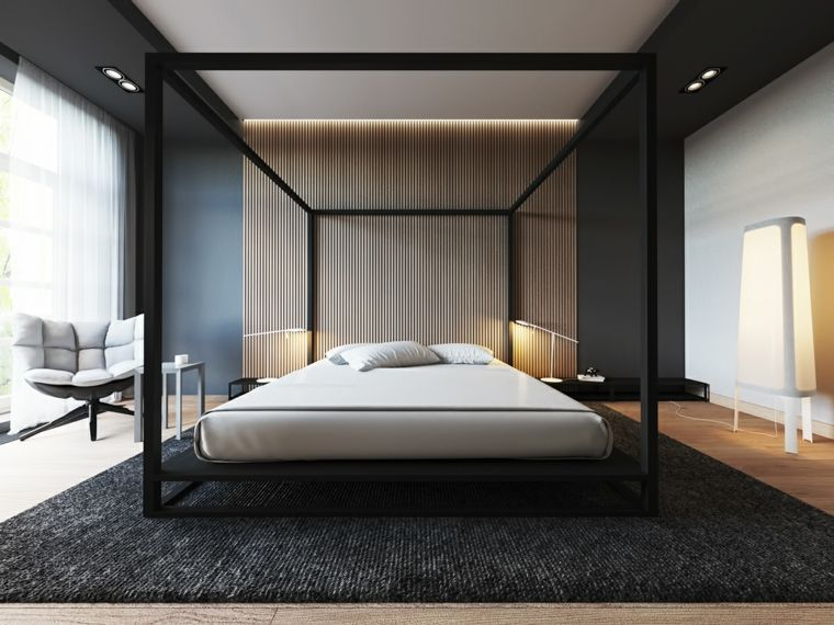 Dormitorios Originales Con Iluminación Brillante