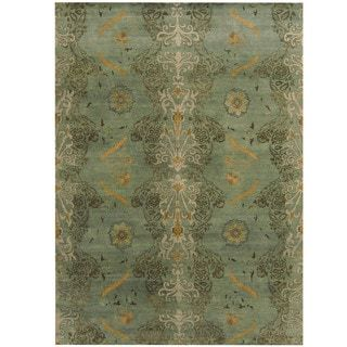 Shop for Herat Oriental Indo Hand-knotted Tribal Aubusson Wool Rug (8'6 x 11'9). Get free shipping at Overstock.com - Your Online Home Decor Outlet Store! Get 5% in rewards with Club O! - 18410951