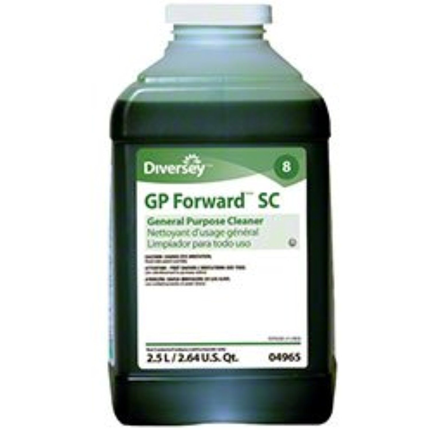 Diversey 904965 Gp Forward Cleaner Commercial Strength Jfill