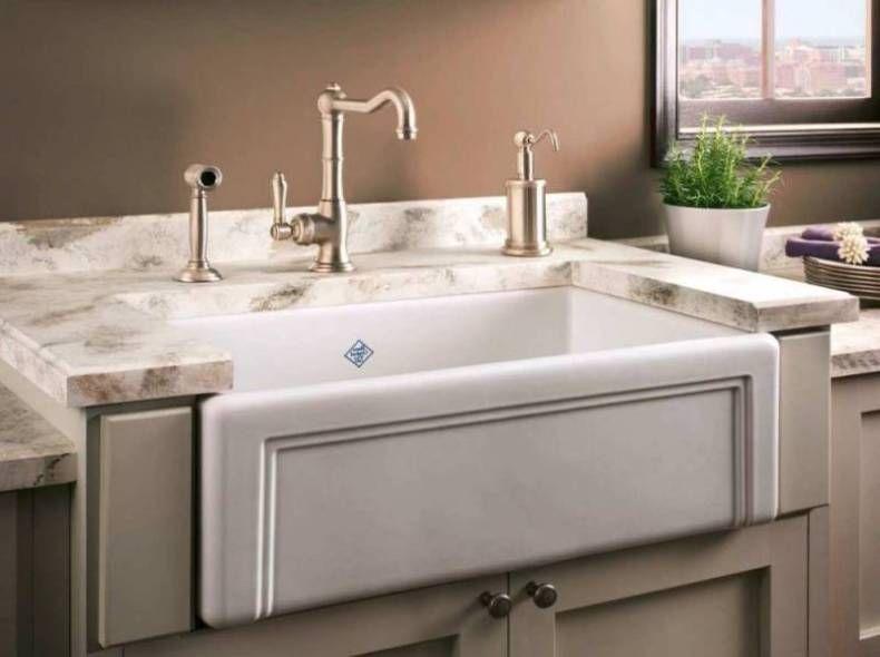 Similar to enameled cast iron, porcelain kitchen sinks are coated ...