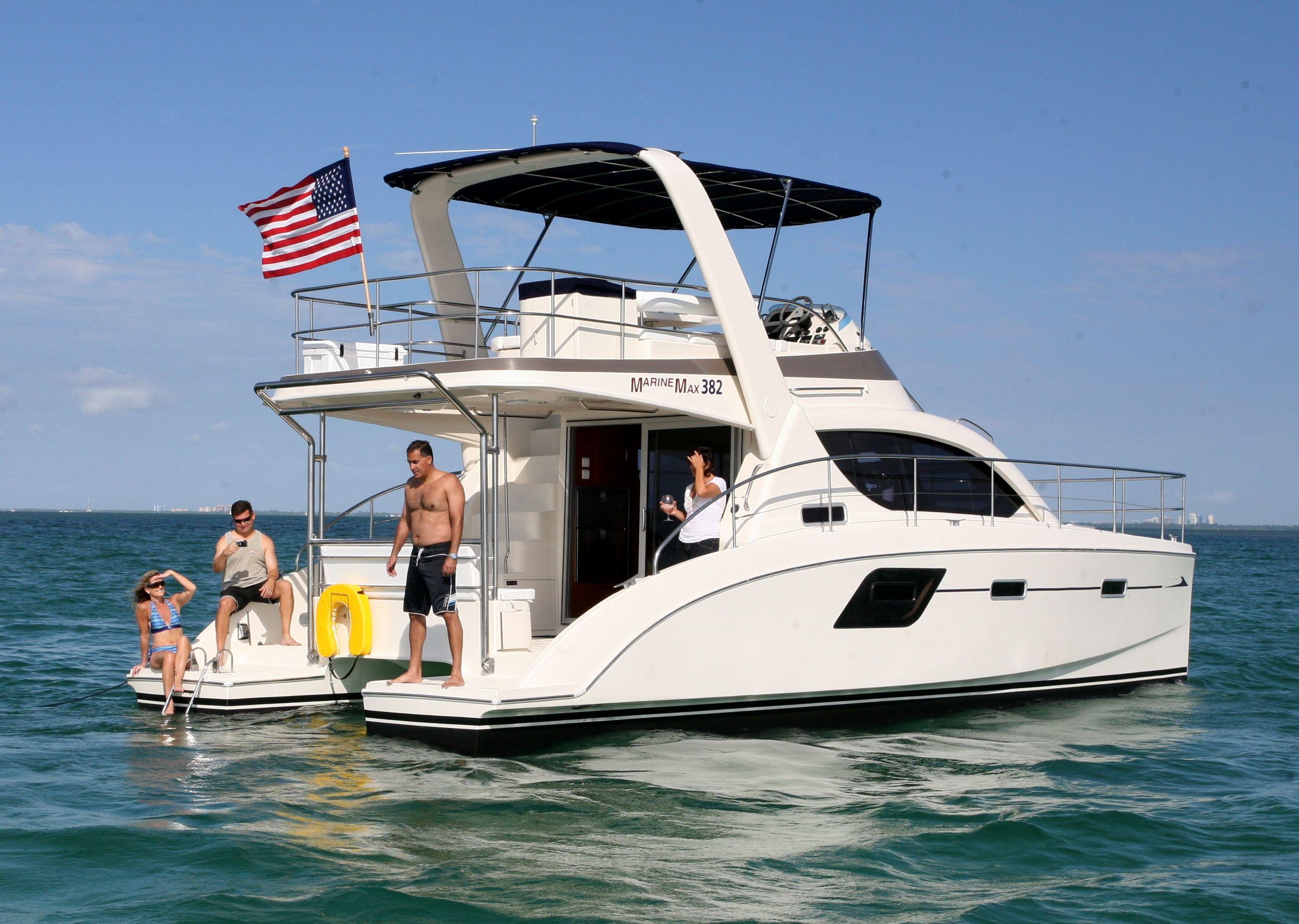 Marinemax 382 Power Catamaran Power Catamaran Motor Yacht Yacht Charter