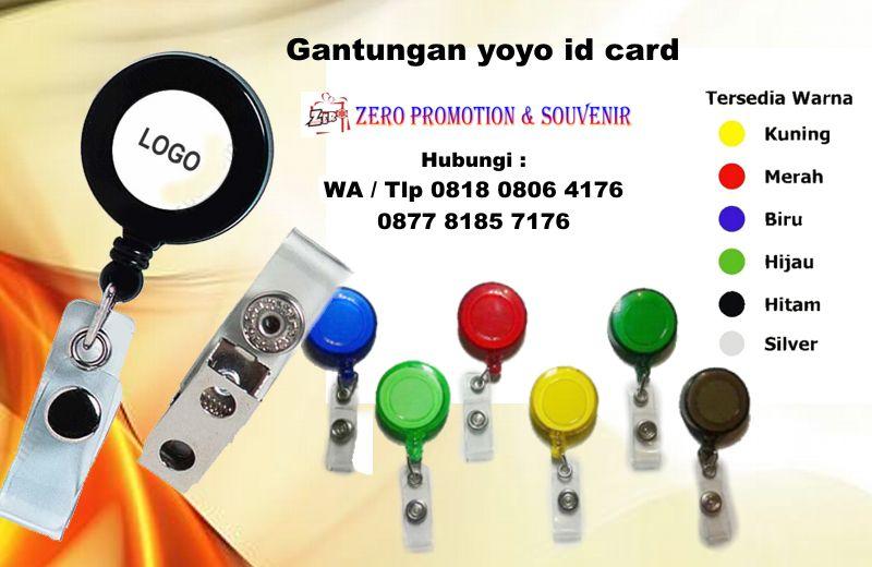 Menjual Yoyo Putar Yoyo Id Card Gantungan Yoyo Pembuatan Logo