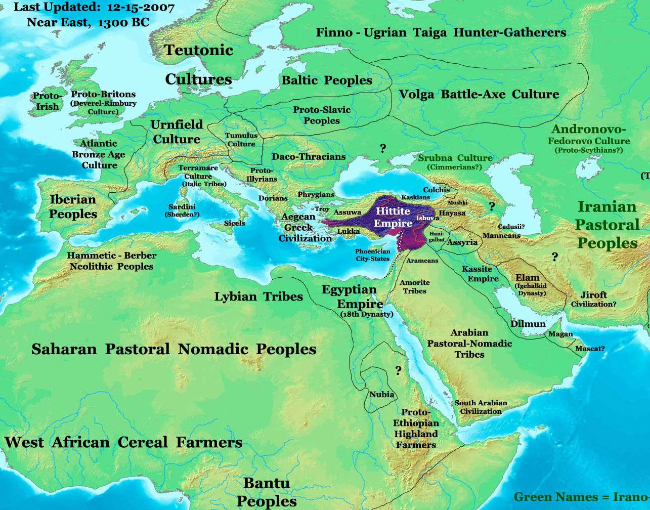 Hittite Empire In BC Hittieten Pinterest Empire - Map of egypt before christ