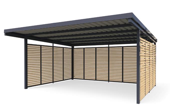 Carport Holz Metall Vom Hersteller Kaufen Gerhardt Braun Carport Holz Carport Garagenbau