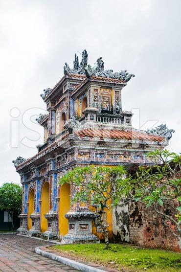 Hue Imperial City A Purple Forbidden City Forbidden City Vietnam Travel City